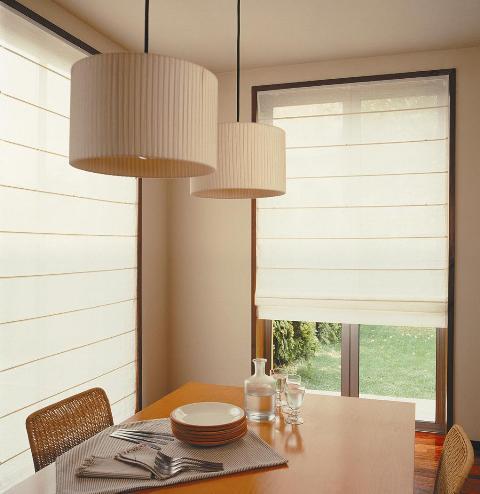 Decoraci n minimalista y contempor nea ambientes con - Decoracion de persianas ...
