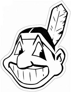 Escudo de los indios de Cleveland para colorear