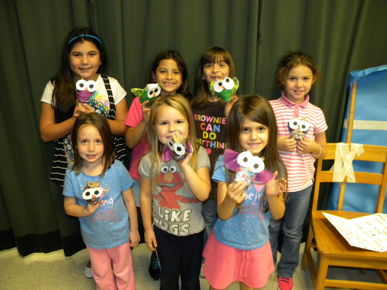 Girl Scout Troop 11584 Meeting 10032012 Recycling Craft Girl