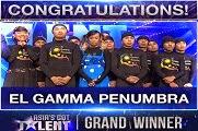 El Gamma Penumbra Winning Piece - Asia's Got Talent