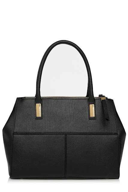 warehouse black tote, warehouse black handbag, celine imitation handbag,