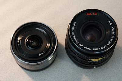 Konica Hexanon AR 40mm f/1.8 Pancake on Sony NEX 5N
