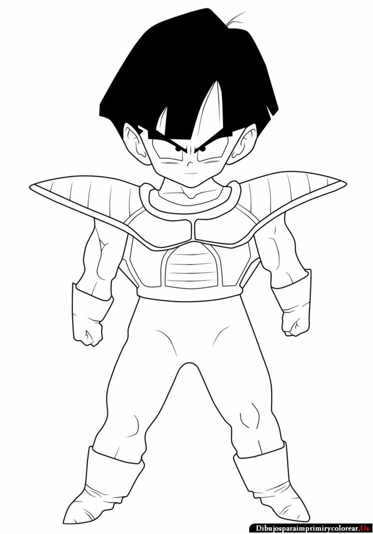 Dibujos de Dragon Ball Z facil - Imagui
