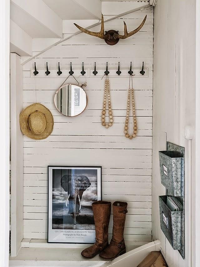 Decoraci n f cil una casa para el descanso en noruega - Casas decoradas en blanco ...