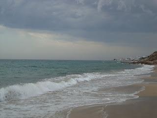 L'Arenalet Beach cloudy sky - L'Almadrava Vandellòs - l'Hospitalet de l'Infant -Tarragona