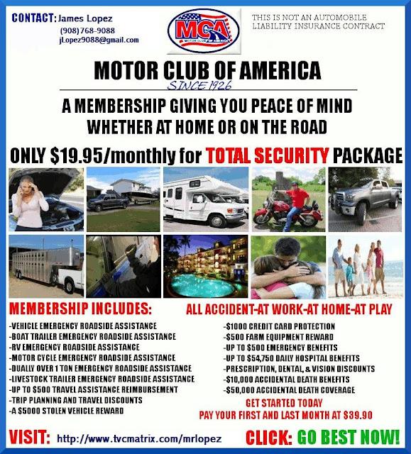 Motor Club Of America Motor Club Of America The
