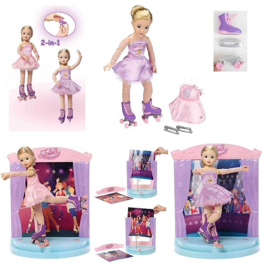 Игровые шарнирные куклы для девочек: Джолина Zapf Creation