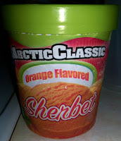 Arctic Classic Orange Sherbet sorbet delicious