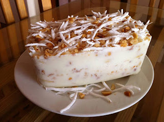 Cách làm kem chuối thơm ngậy cực đơn giản8
