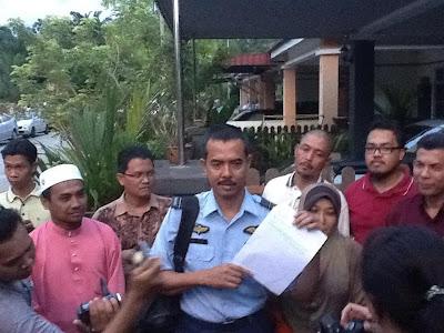Dedah Dakwat Tak Kekal - Pegawai Pemerintah TUDM Di Tukar Serta Merta