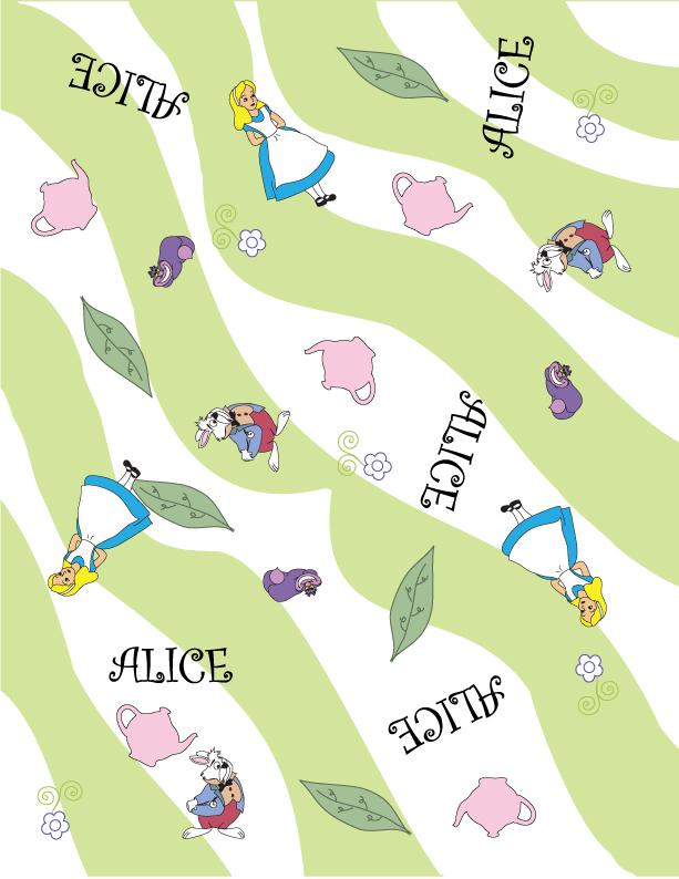alice in wonderland term papers