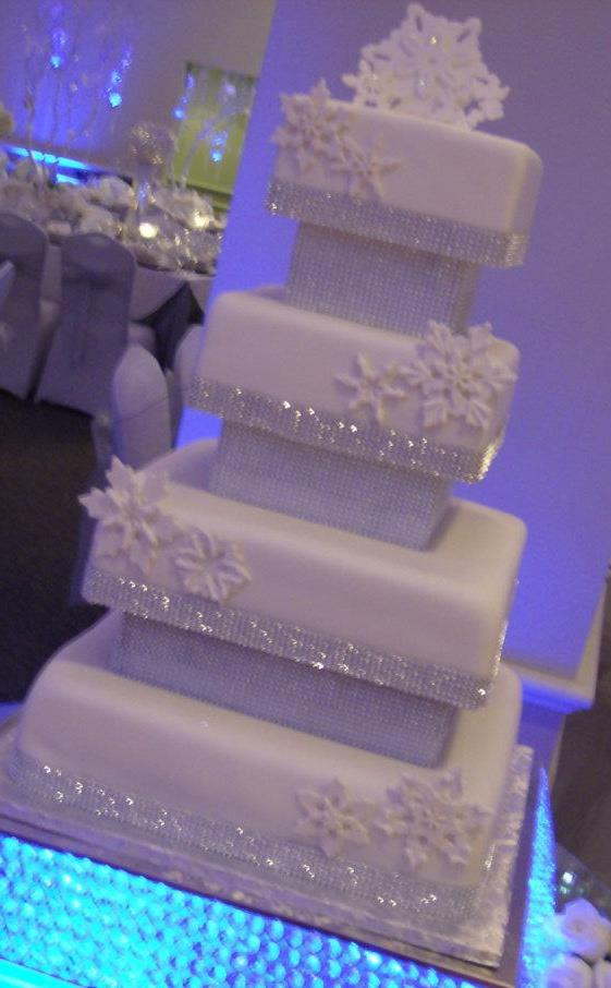 Emejing Winter Themed Wedding Cakes Pictures - Styles & Ideas 2018 ...