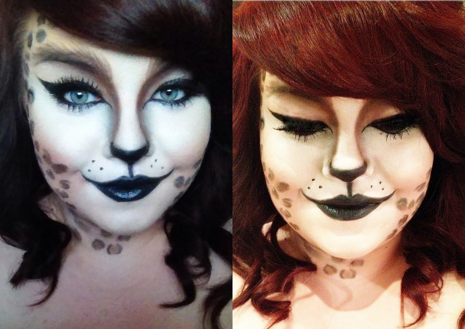 Halloween: Cat Makeup : She Might Be Loved