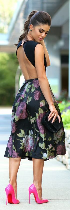 Love this floral dress #summer