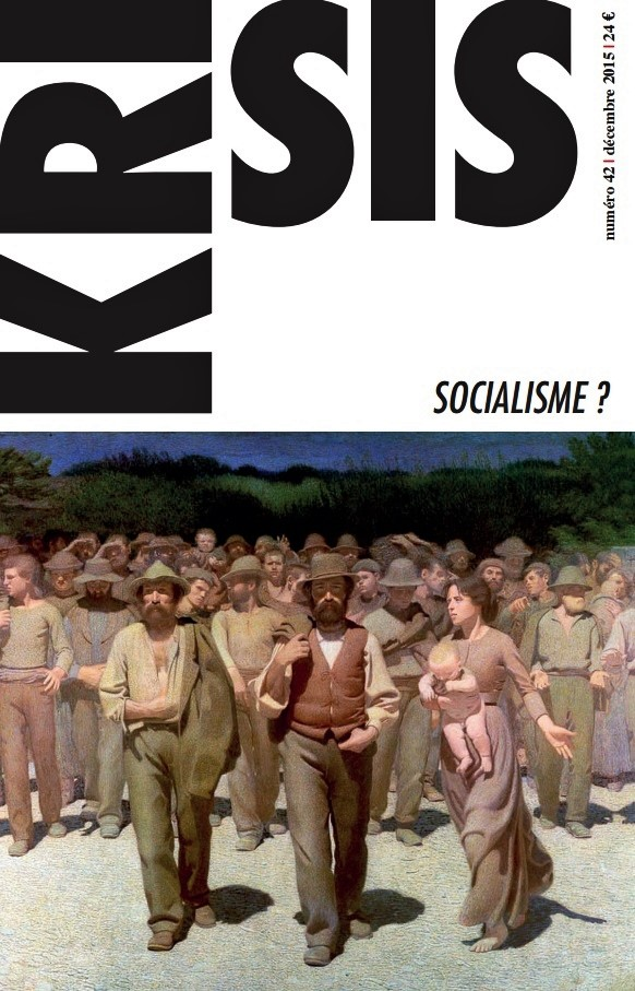 KRISIS 42: SOCIALISME ? A DECOUVRIR  !