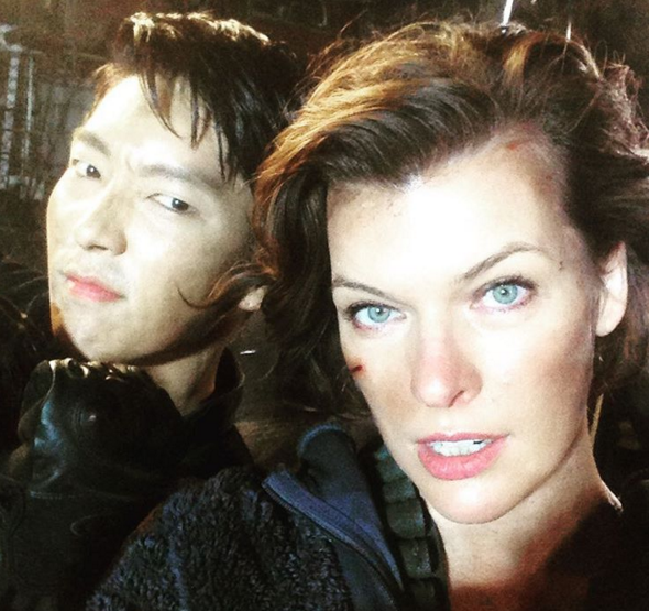 Resident Evil: The Final Chapter, Lee Jun Ki,  Milla Jovovich