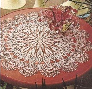 "Tapete ""Primoroso"" a Crochet"