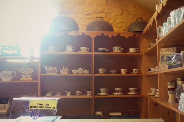 aysgarth tea room mill race