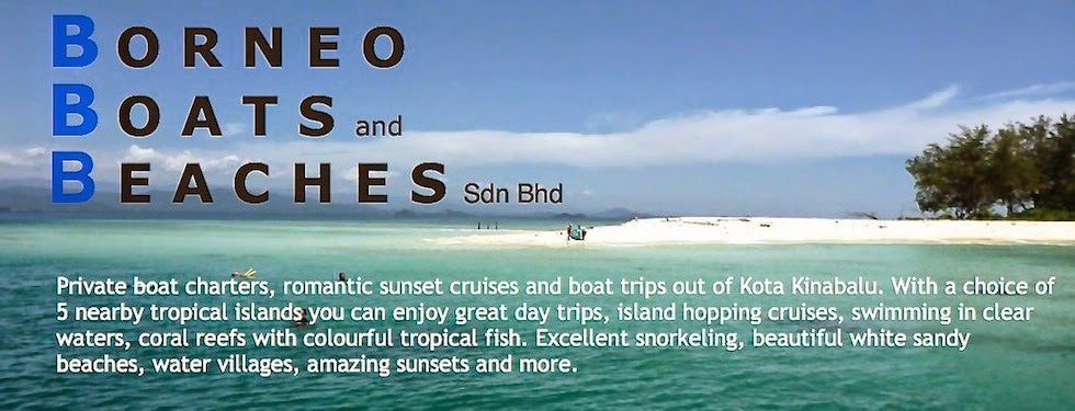 -Borneo Boats and Beaches-private boat trips, snorkeling, island hopping etc from Kota Kinabalu