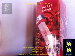 perfume sports thumbs