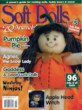 Serena Apple Head Witch Doll Pattern in