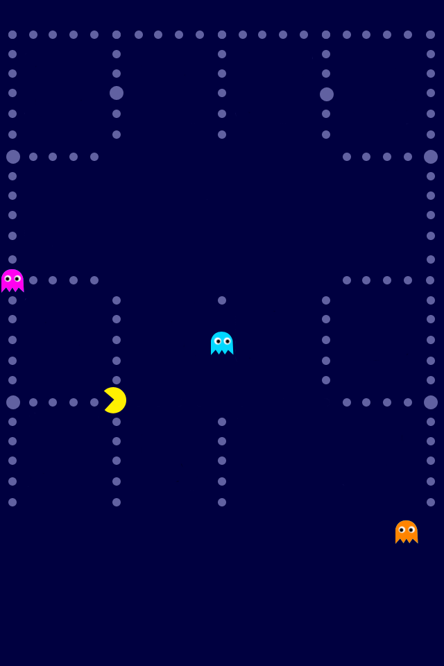 pacman blue 2 iphone 4 wallpaper pocket walls hd