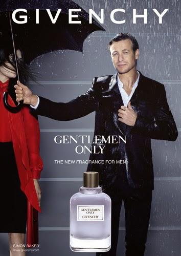 Gentlemen Only Givenchy perfume hombre Simon Baker