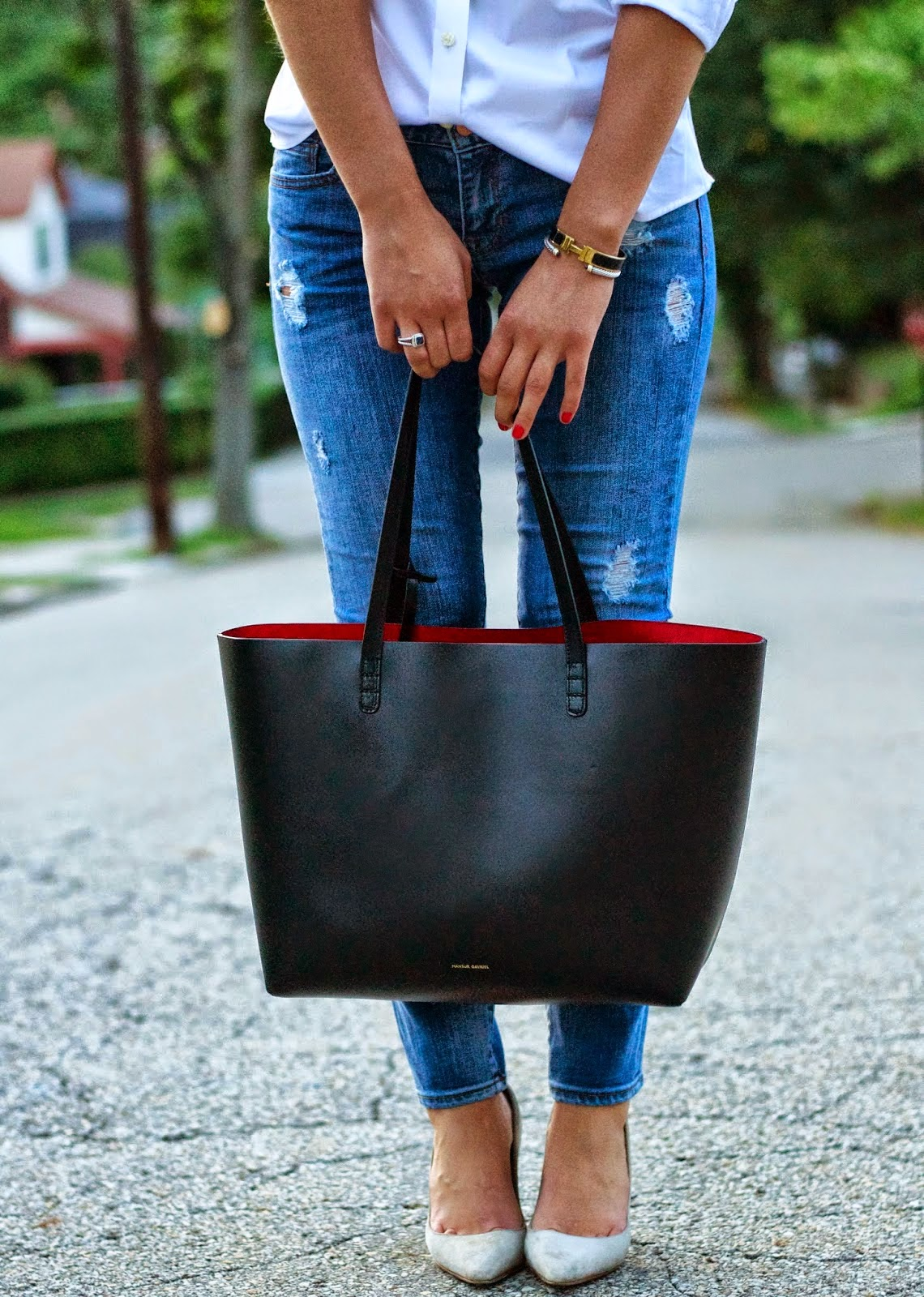 To Say I Ve Gotten My Money S Worth Out Of Mansur Gavriel Tote Would Be An Understatement Take This Bag Work Daily And Have Used It Probably A