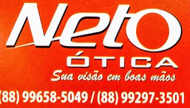 Neto Ótica  (88) 3421-5766 / Av. Cel. Alexandrino, 742 Centro/Aracati