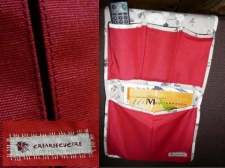 Creareecucire tasca porta telecomando - Porta telecomandi ...
