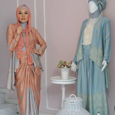 Contoh Gaun Muslimah Modern