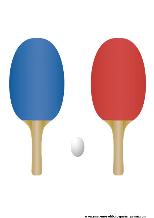 imagenes de dibujos de palas de ping pong