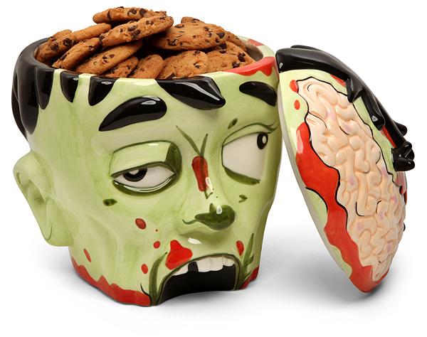 Cookie Jar Bg Best Lucky Strike Tattoo Events GiveAway ZOMBIE HEAD Cookie Jar