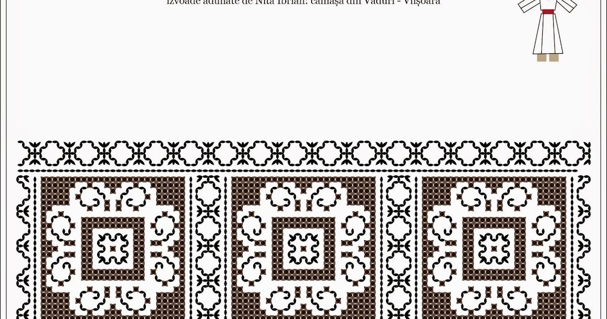 Semne cusute romanian traditional motifs moldova neamt vaduri viisoara - Beautiful romanian folk motifs ...