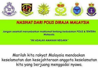 Ambil Perhatian !!!! Nasihat Dari PDRM Tolong Sebarkan