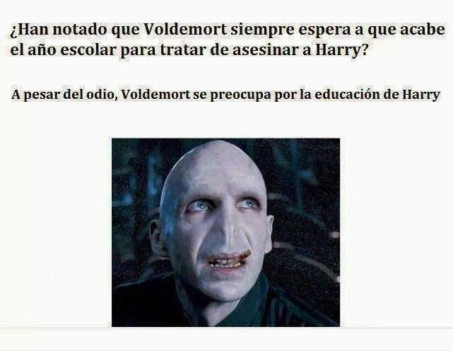 Voldemort tan comprensivo...