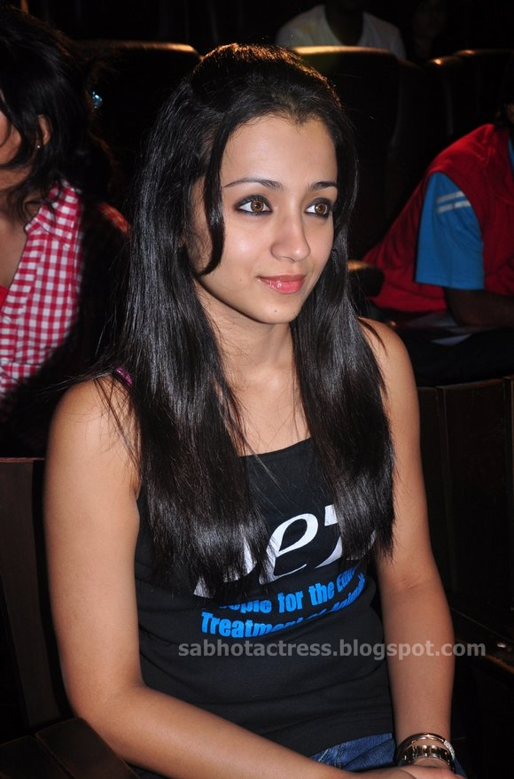 Trisha look Cute and Gorgeous Photo Gallery At Galatta Event