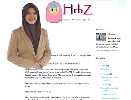 blog nor adibah rozain - juara Dai pendakwah milenia