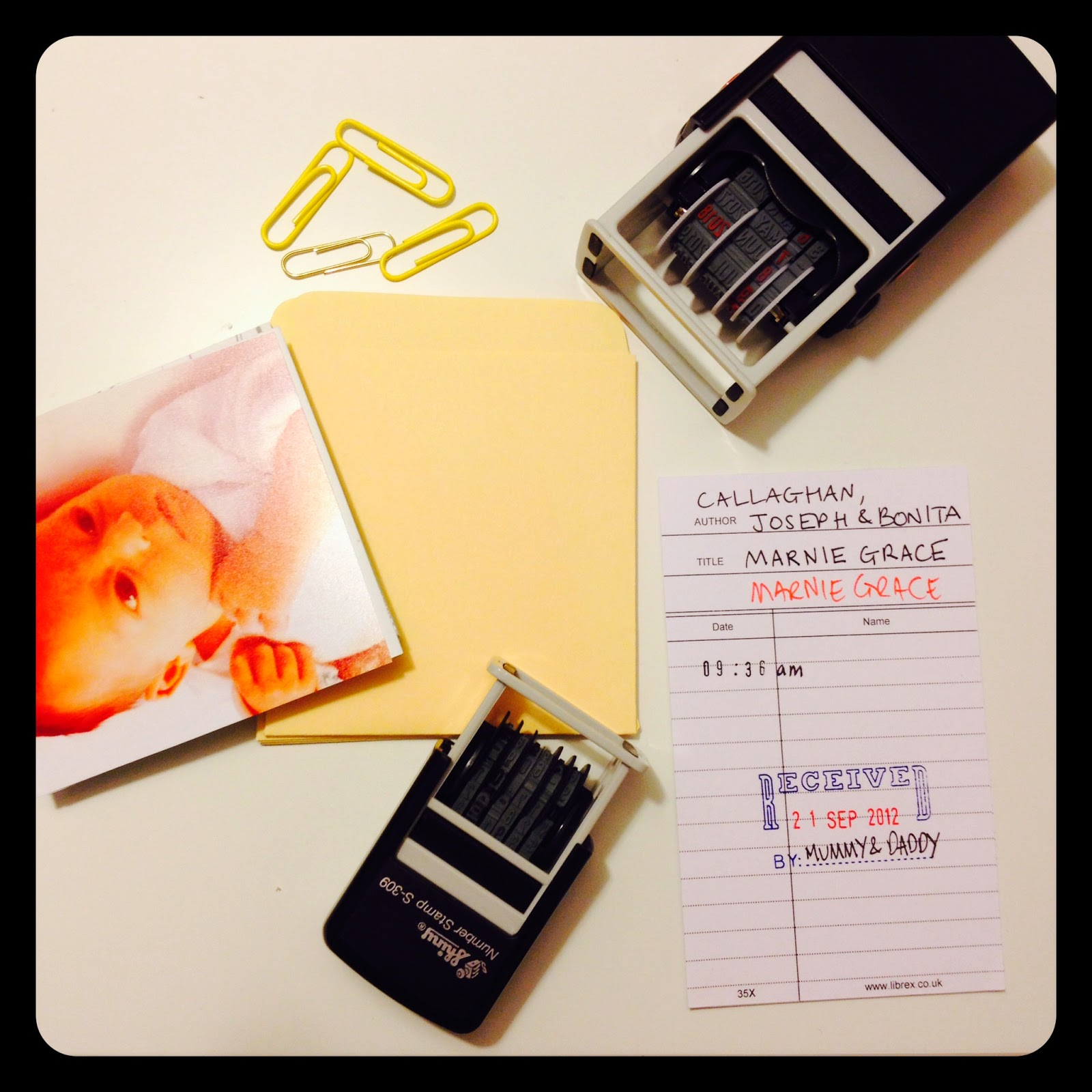 10 really creative Birth Announcements including my own DIY one – Diy Baby Announcements