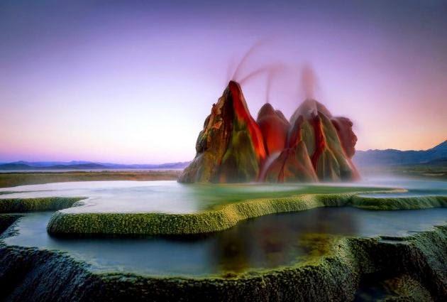 Fly Geiser, Nevada, USA