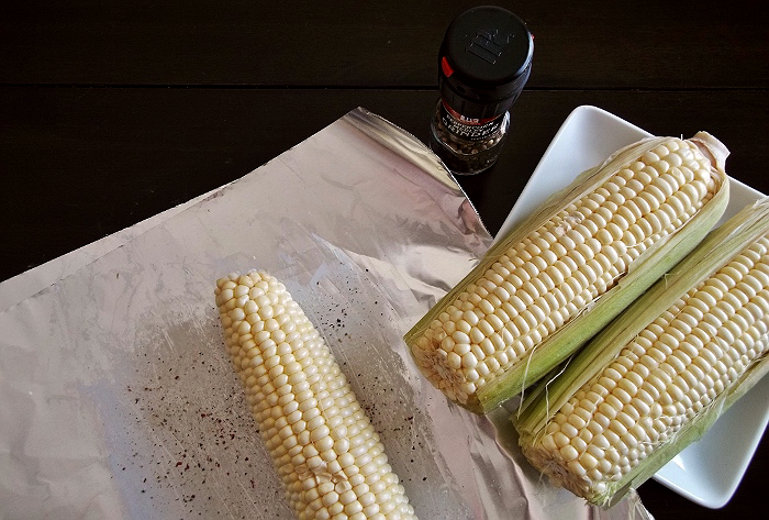 How to make grilled corn in the oven. #AmericasFarmers #ad