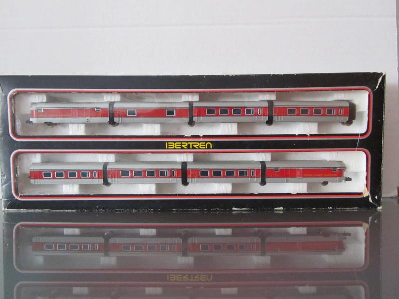 escala tren: