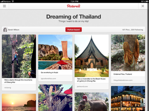 Pinterest iOS Download