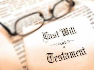 legal Last Will and Testament Paper Document Estate, legal will document on paper with spectacles
