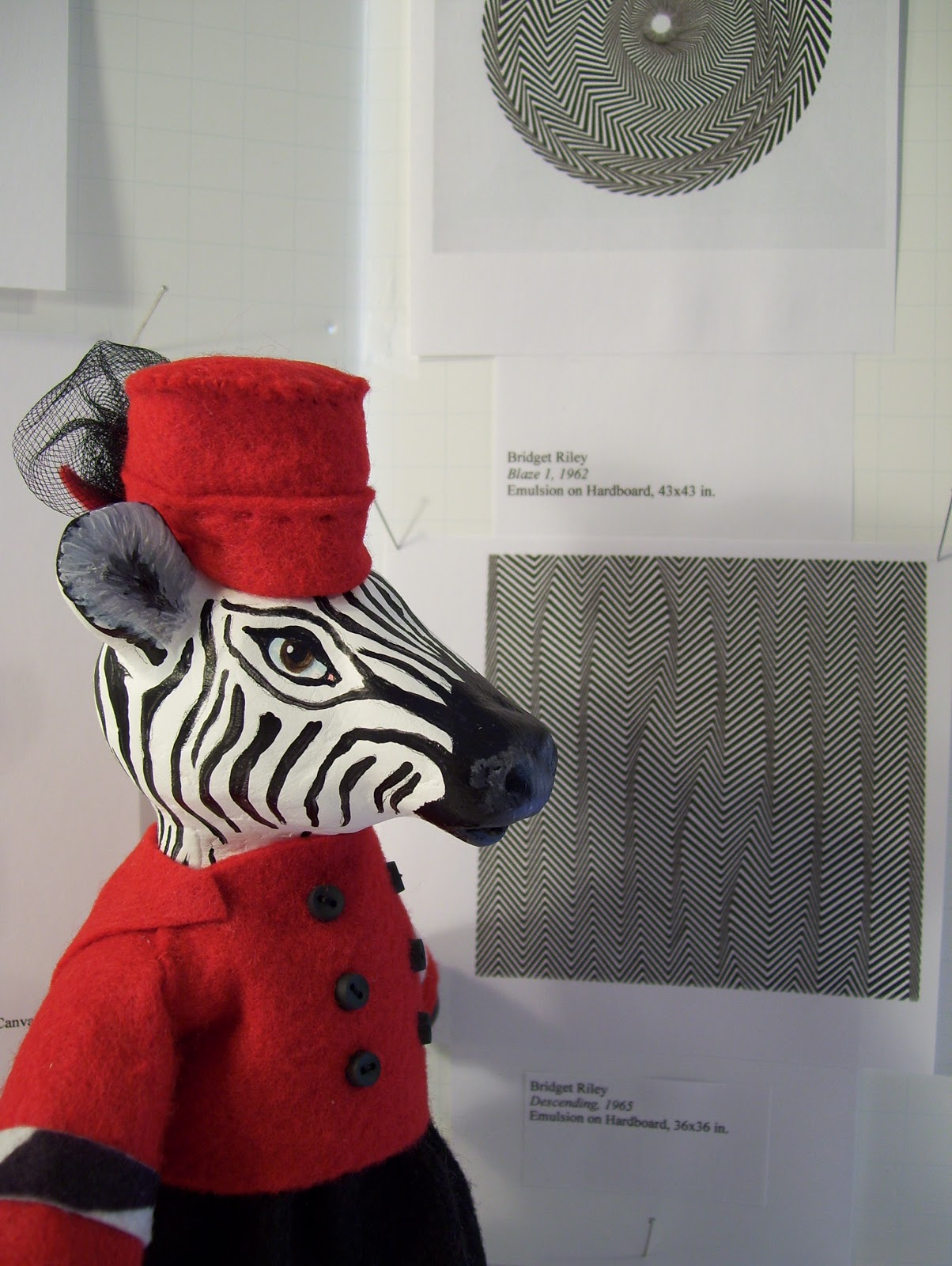 Studio 2137 zara the zebra and op art ohoovy altavistaventures Image collections