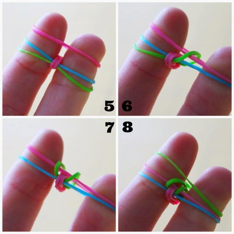 Как сделать браслет из маленьких резинок