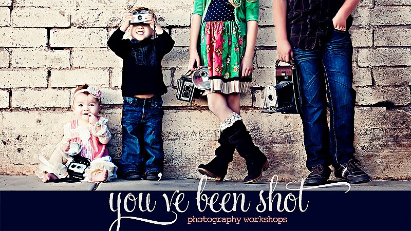 You've Been Shot- Photography Workshops