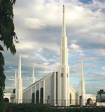 The Manila Temple in the Philippines