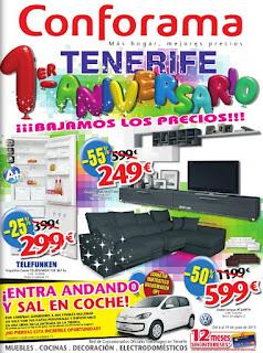 catalogo conforama T aniversario 2013