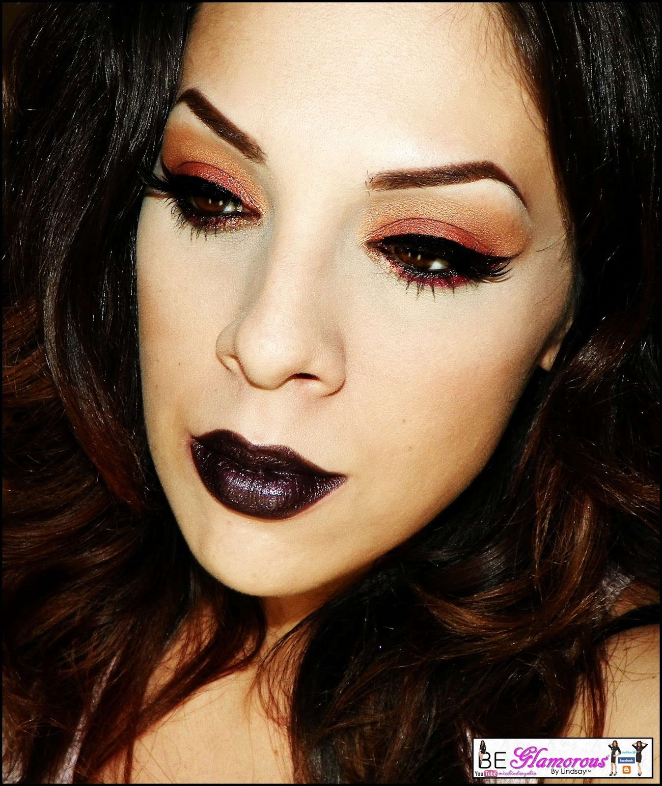 Be glamorous by lindsay fierce friday voodoo makeup look fierce friday voodoo makeup look baditri Images